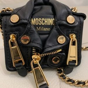 Moschino Bags - SOLD🤩 Moschino H&M Leather Jacket Crossbody Bag